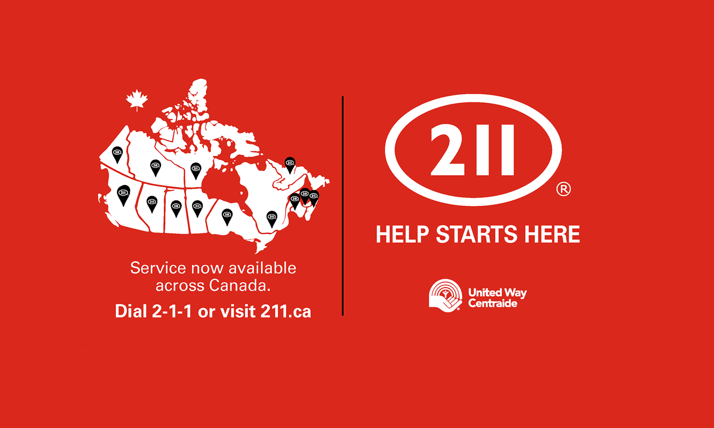 Call 2-1-1 to find local resources for help